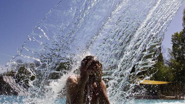 Temperaturas de verano y calor sofocante en el centro y