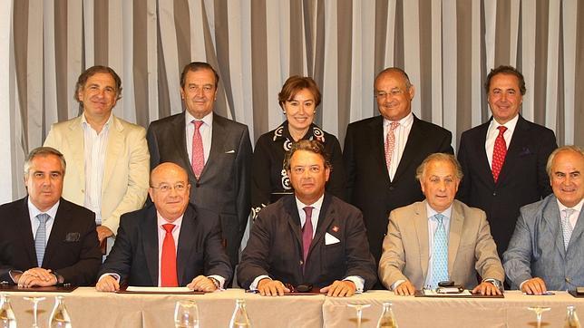 Carlos Núñez, reelegido presidente de la Unión de Criadores de Toros de Lidia