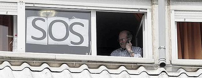 Un anciano de una residencia de Santander amotinado por