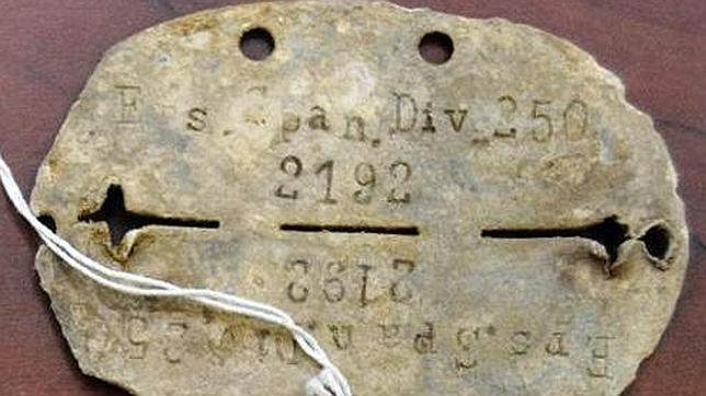 Regresan a España 173 placas de Caídos de la División Azul