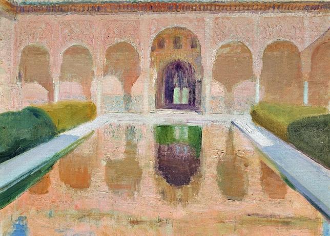 Sorolla revisita la Alhambra  ABCes