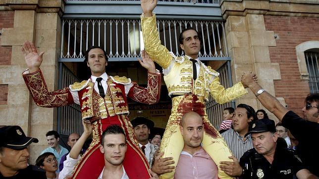 Fandiño y Mora, por la puerta grande de Salamanca