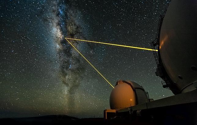 Hallan la estrella más cercana al agujero negro en el centro de la Vía Láctea