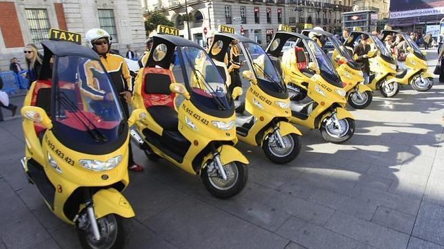 Moto taxis para Madrid