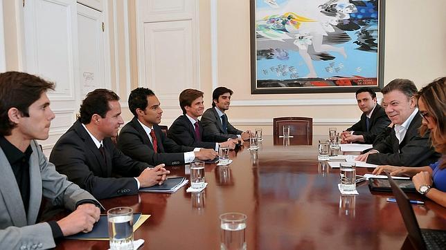 El presidente de Colombia propone  declarar los toros Patrimonio Cultural