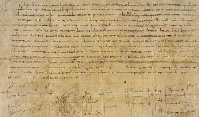 Hallan el único documento original sobre el legendario fundador de Castilla, Fernán González