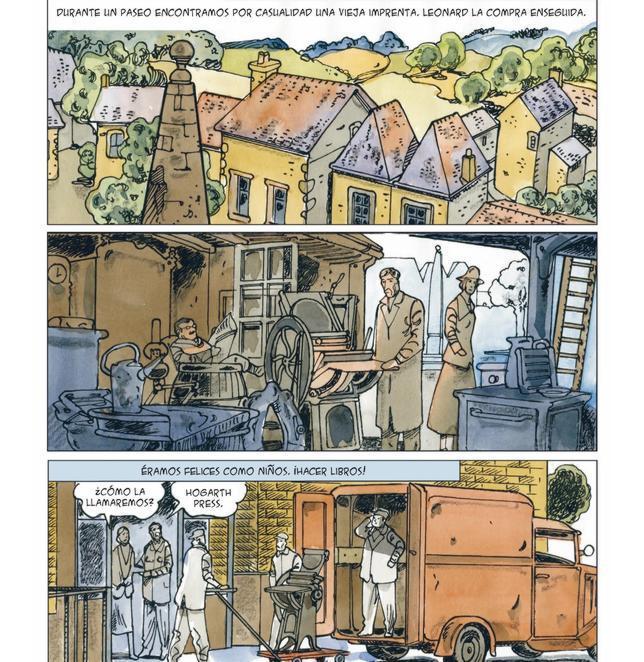 El cómic llegará a las librerías españolas el 15 de noviembre