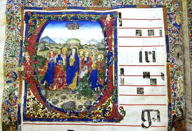 La Biblioteca Nacional saca a la luz dos cantorales del siglo XV