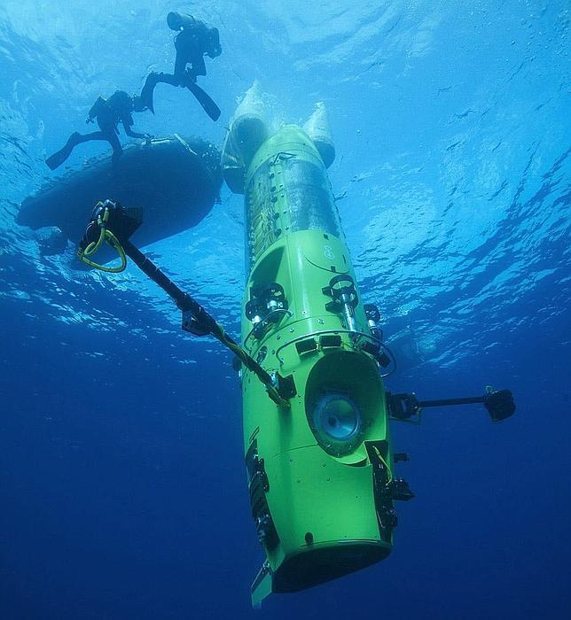 James Cameron cuenta lo que vio en el fondo del océano
