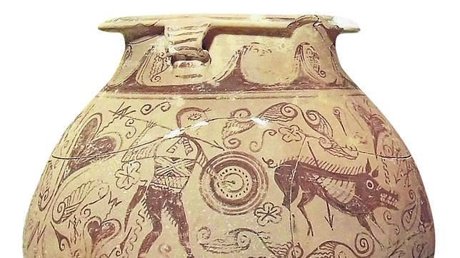 Una vasija expoliada conduce a los expertos a la tumba del «Aquiles» ibero