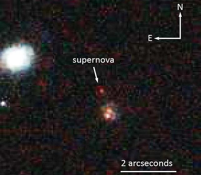 Encuentran a «Mingus», la supernova más lejana jamás vista