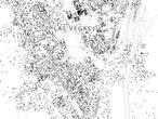 Un mapa muestra a todos los ciudadanos de EE.UU. y Canadá: cada persona, un punto