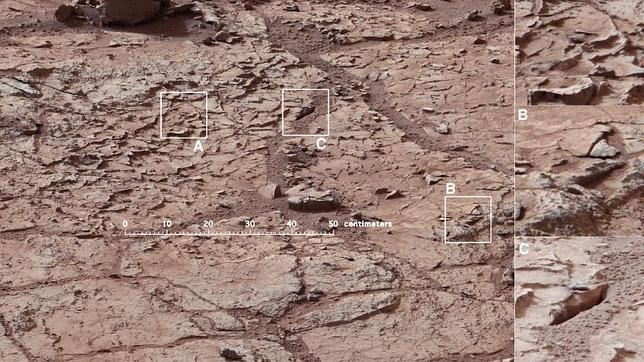 El Curiosity se lanza a perforar Marte