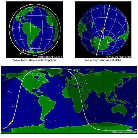 Un satélite ruso del tamaño de una furgoneta chocará contra la Tierra en pocos días