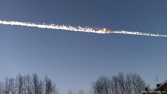 ¿Procede el meteorito de Rusia del asteroide 2012 DA14?