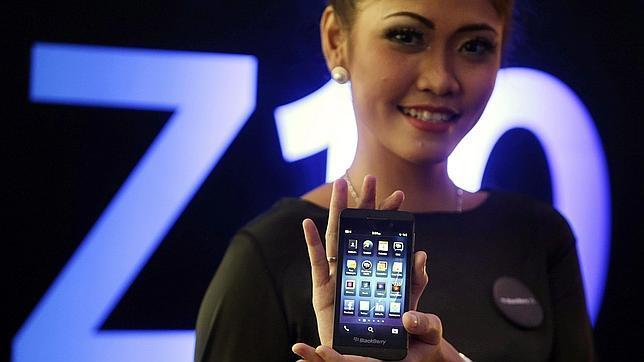 El BlackBerry Z10 llega a España