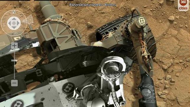 Una megapanorámica de Marte a todo detalle