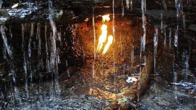Desvelan el origen de las llamas eternas