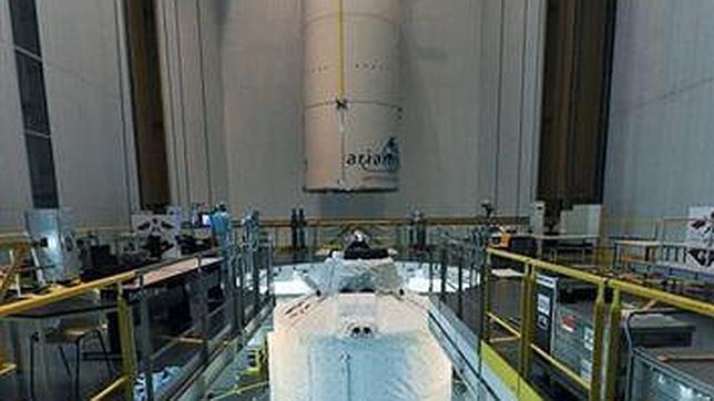 La nave espacial más pesada jamás lanzada por Europa despega este miércoles