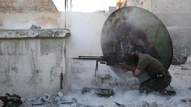 Los guerrilleros libaneses de Hizbolá alcanzan Alepo