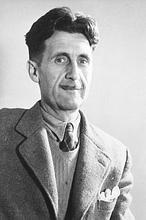 Orwell, en otra imagen tras la guerra de España