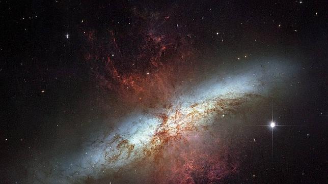 Las galaxias  «pierden apetito» con los años, según un estudio de la NASA