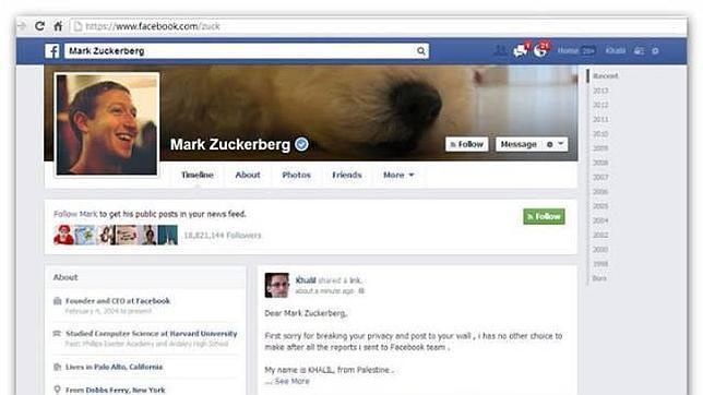 El «hacker» que encontró el «bug» en Facebook se queda sin recompensa oficial