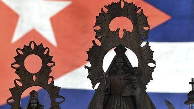 Imágenes de la Virgen de la Caridad del Cobre, patrona de Cuba