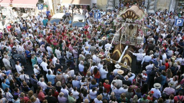 Sesenta policías para vigilar el «Rocío de la fe»