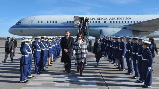 Así son los aviones oficiales de los Estados