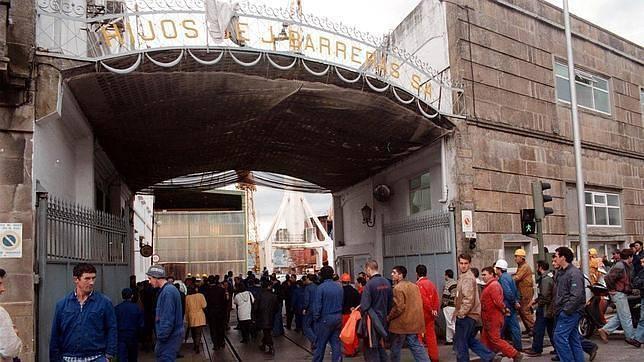 Las puertas del mayor astillero español