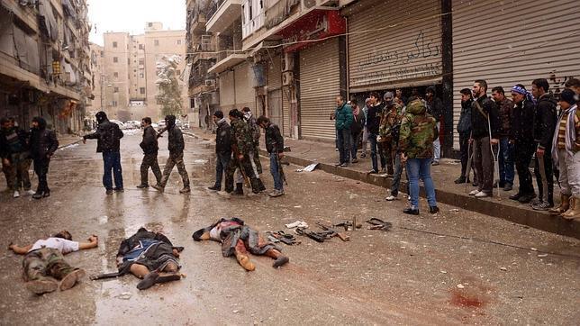 Los bombardeos y combates alejan de nuevo el diálogo sobre Siria