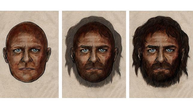 Reconstrucción del aspecto del hombre de La Braña