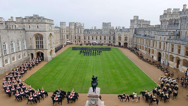 El temporal en Londres amenaza con inundar el castillo de Windsor