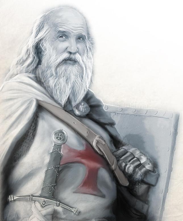 El día que murió en la hoguera Jacques de Molay, último gran maestre templario