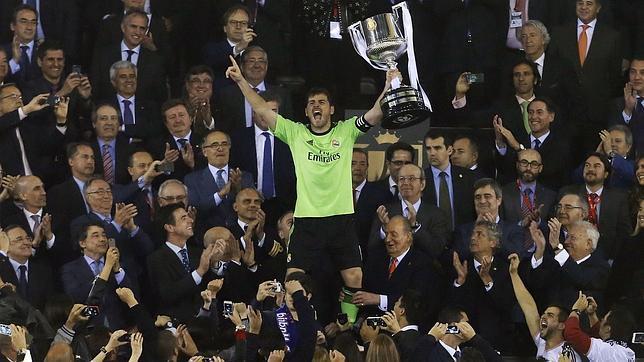 Image result for iker casillas Copa del Rey