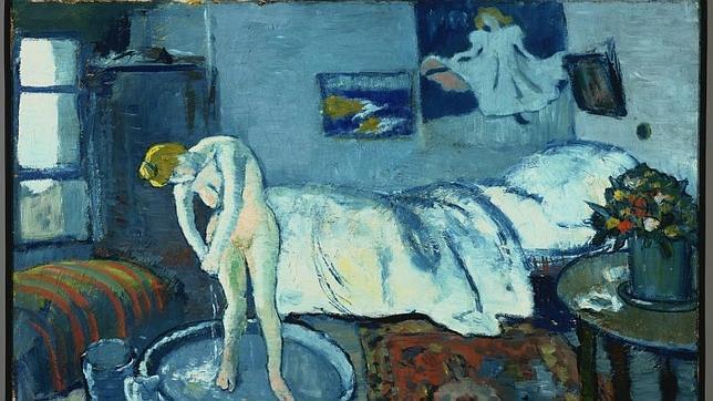 Alguien se esconde en La habitacin azul de Picasso