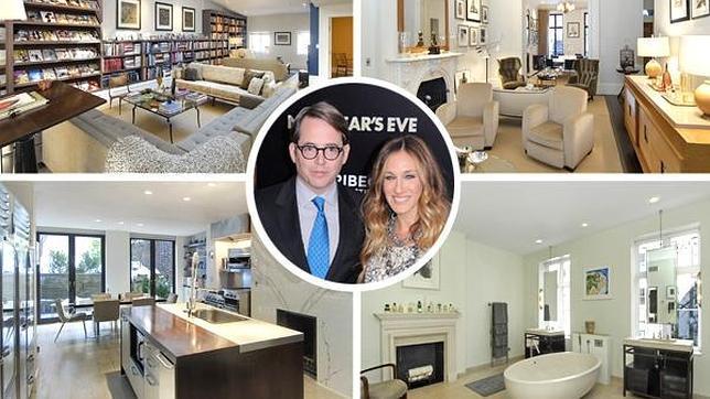 As es la fabulosa casa que Sarah Jessica Parker pone a la venta