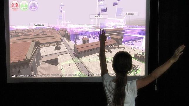 Así serán los museos del futuro: «Las llaves de Roma»