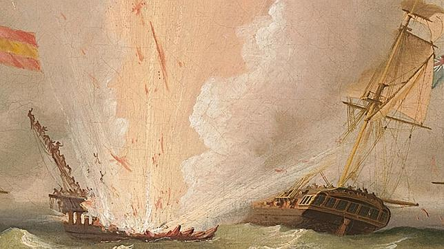 Los detalles de la explosión de la fragata Mercedes, según relato de Diego de Alvear