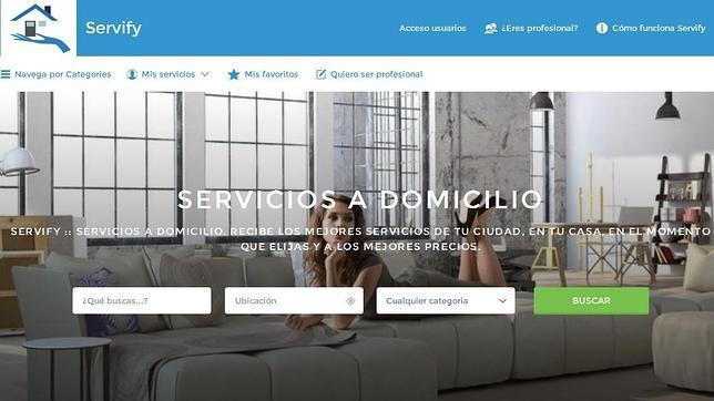 Servify: crean una plataforma para contratar servicios a domicilio