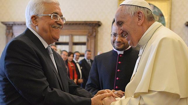 El Papa recibe a Mahmud Abás en vísperas del reconocimiento del Estado de Palestina