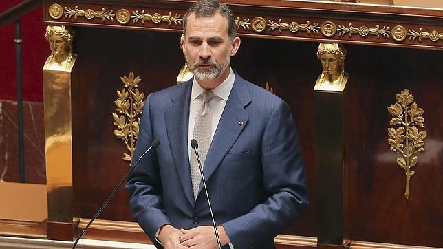 El Rey: «La democracia exige una eterna vigilancia para su pervivencia»