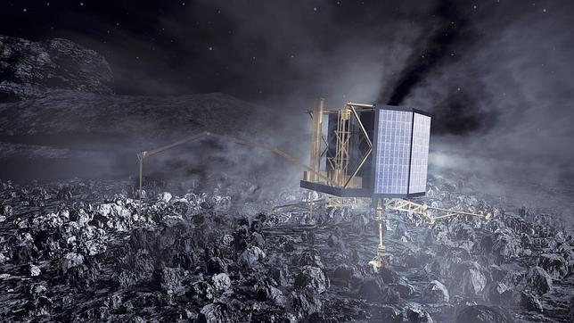 El robot Philae recupera su actividad tras siete meses inactivo sobre un cometa