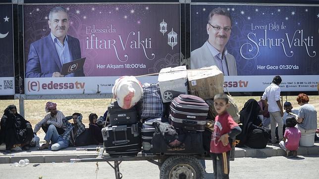 El Estado Islámico crucifica a dos niños por no ayunar en Ramadán