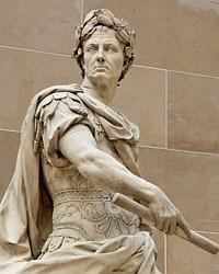 Escultura de Julio César, por Nicolas Coustou