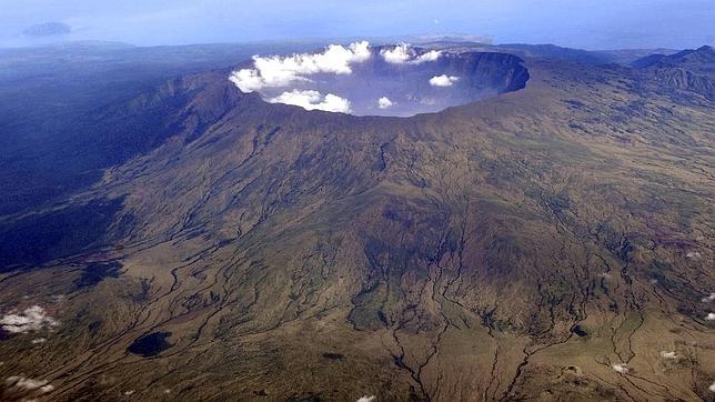El volcán Monte Tambora, en Indonesia