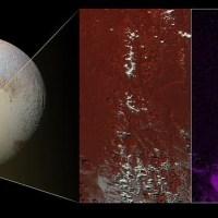 Nieve exótica en Plutón
