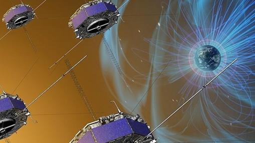 Satélites de la misión MMS, de la NASA