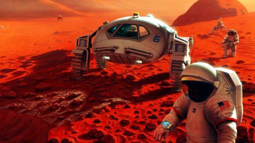 ¿Serán así las primeras misiones tripuladas a Marte?